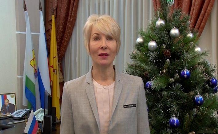 Поздравление с Новым годом главы города Кирова Елены Ковалевой