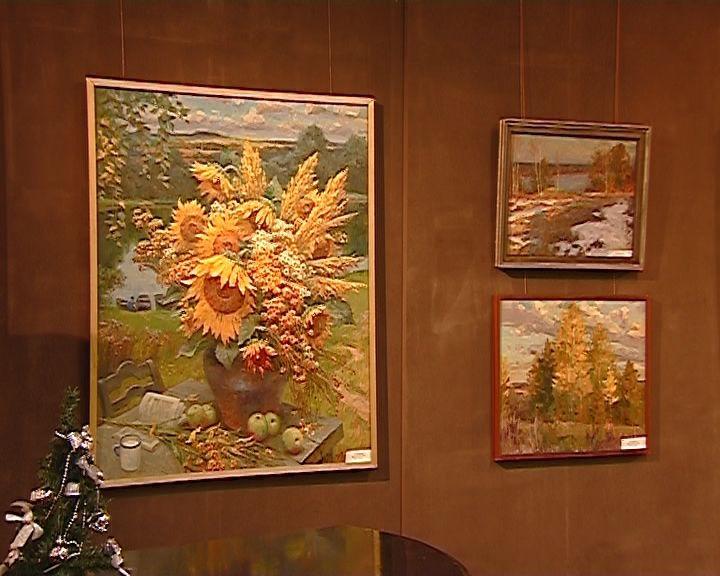 Выставка Александра Веприкова и Николая Поликарпова в выставочном зале художественного музея