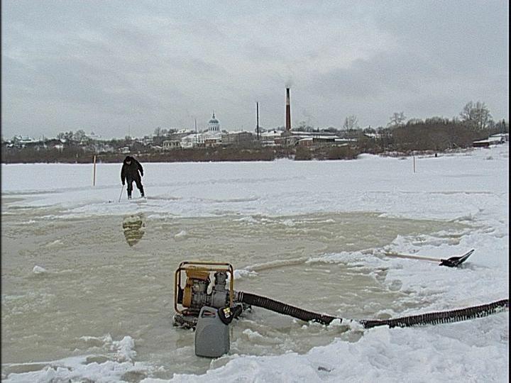 Открытие ледовых переправ в регионе откладывается