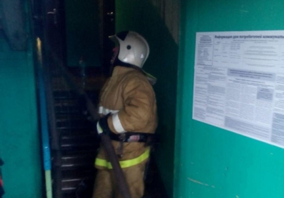В Кирове произошел пожар в магазине женской одежды.