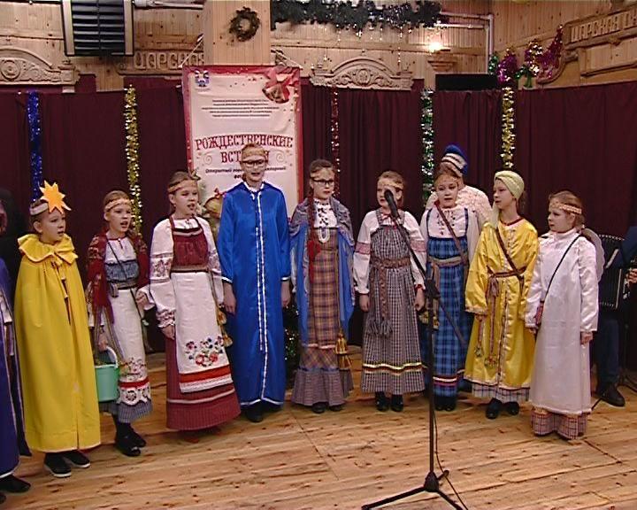 В Кирове на Кикиморской горе прошел открытый фольклорный фестиваль Рождественские встречи