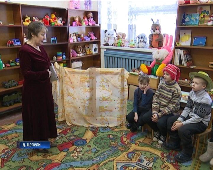 В деревне Цепели Орловского района возрождают традиции святок