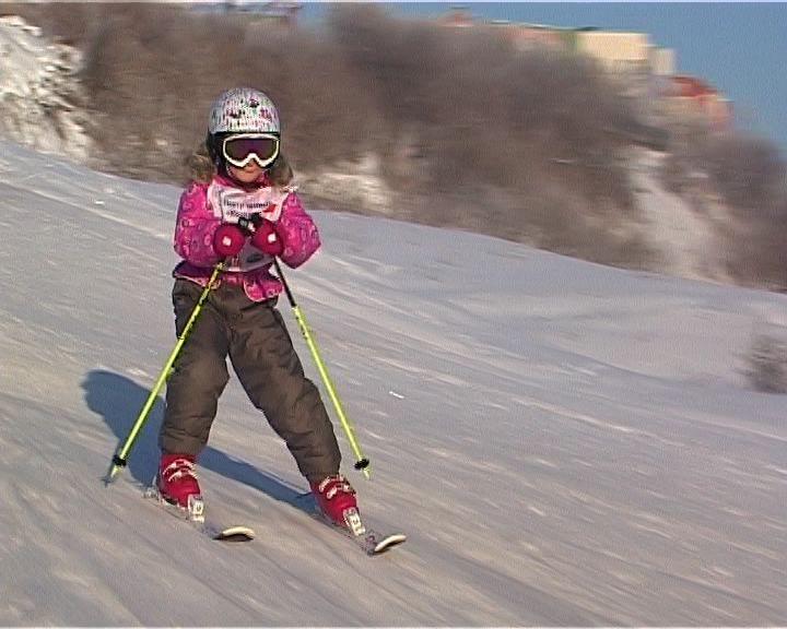 В Кирове прошел первый экзамен для юных горнолыжников