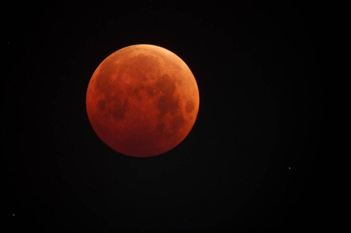 В Кировской области можно будет наблюдать полное лунное затмение.