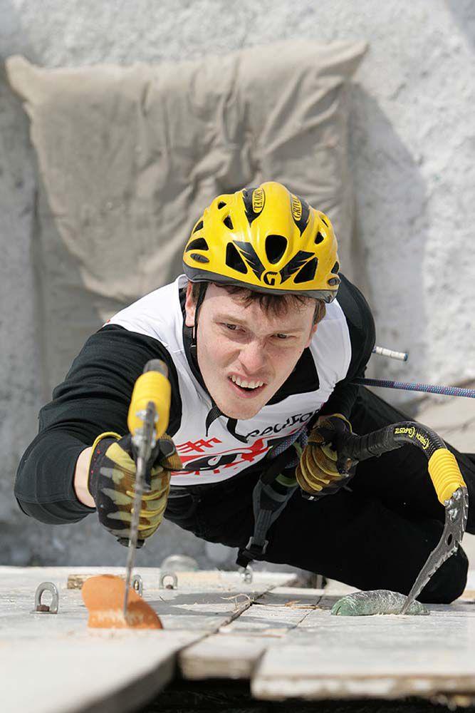 Ледолазы из Кирова завоевали пять медалей этапа Кубка мира по ледолазанию.