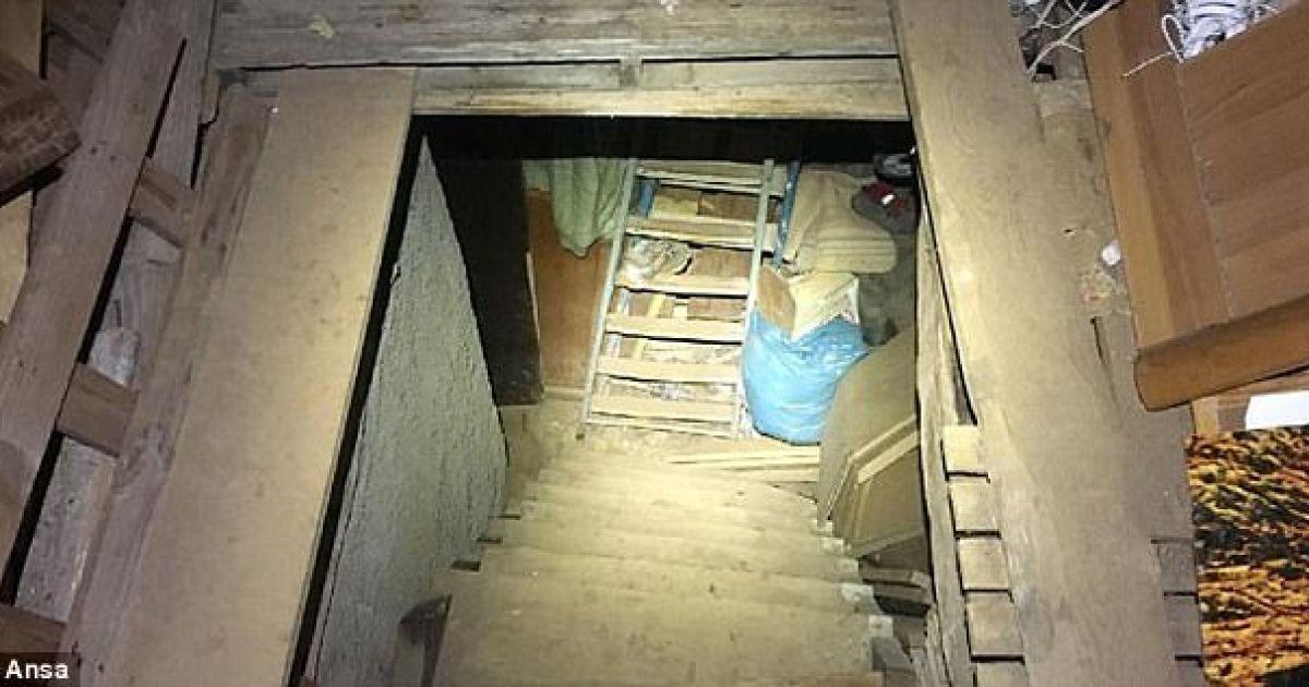 Житель Кирса насильно держал подругу в подполье.