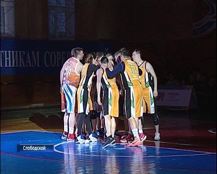 В Слободском прошли финалы Чемпионата школьной баскетбольной Лиги