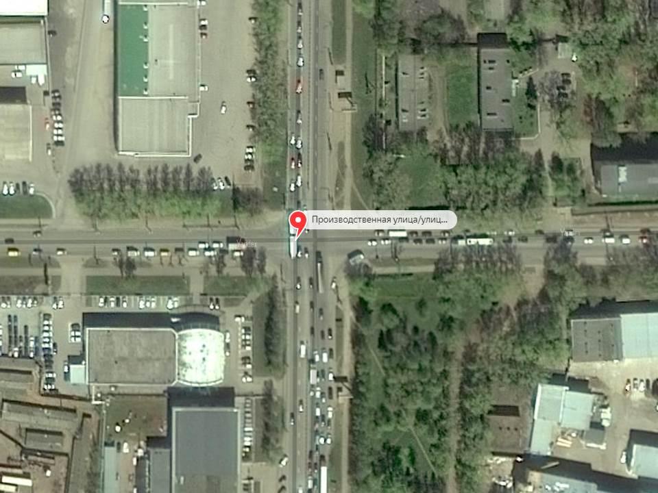 Проезжую часть в районе перекрестка улиц Щорса и Производственной расширят.