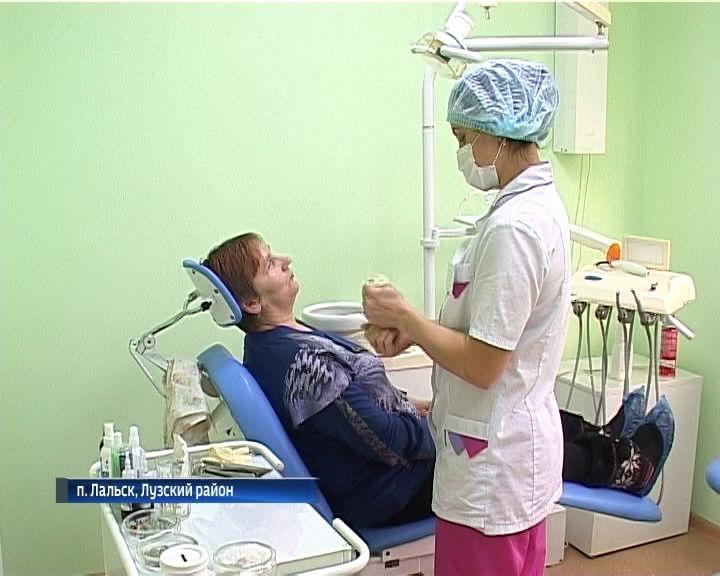 Новая больница в посёлке Лальск Лузского района Кировской области