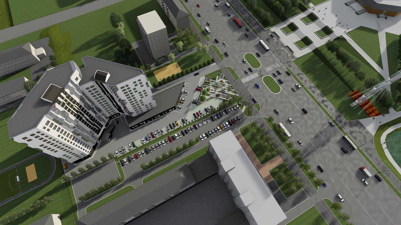 Проект жилого комплекса на месте бывшего ДК Циолковского отправили на доработку.