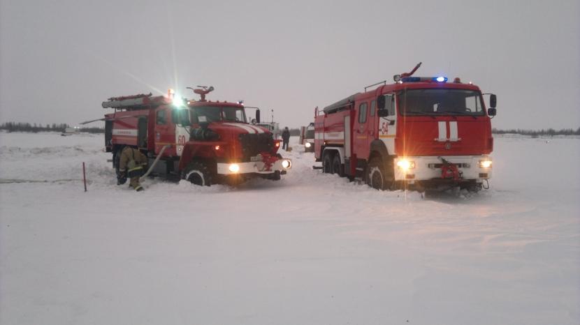 В Подмосковье разбился пассажирский самолет, летевший в Орск.