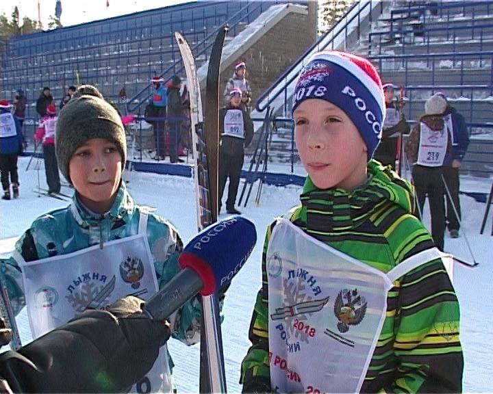 В регионе состоялся самый массовый забег «Лыжня России»