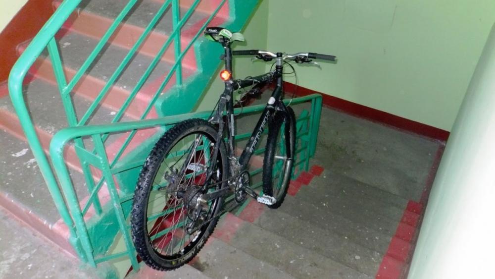 В Кирове поймали похитителей велосипедов.