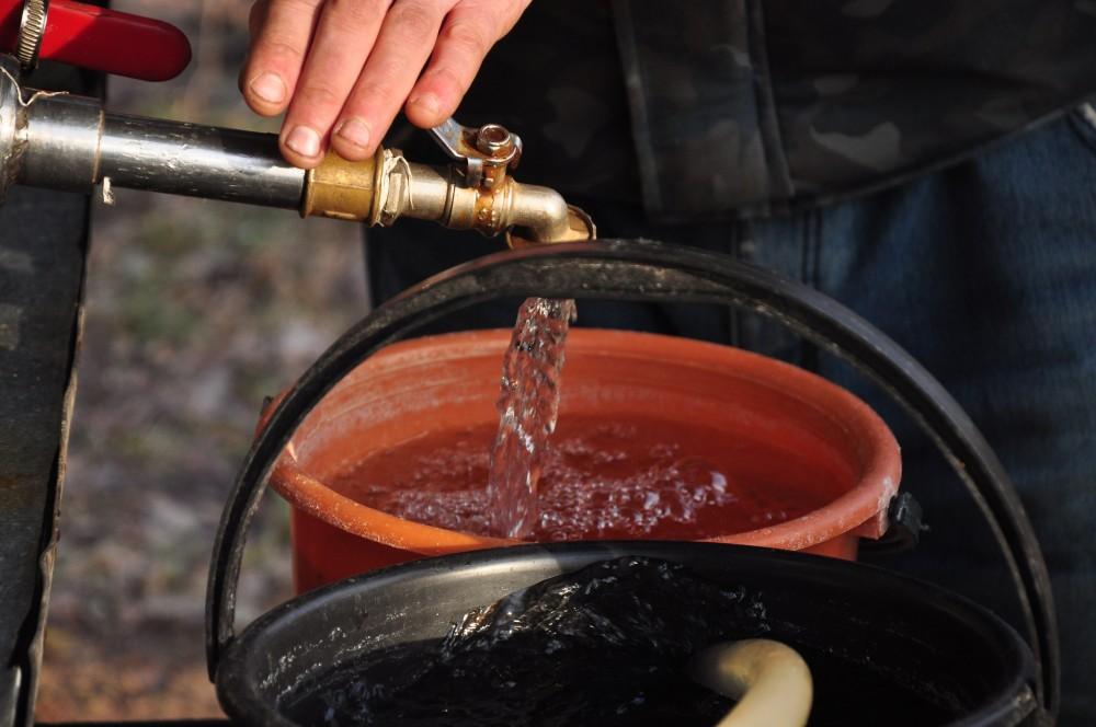 В Вересниках водоснабжение восстановят полностью в течение дня.