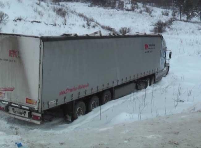 В Кировской области инспекторы ДПС спасли на трассе водителя из Татарстана.