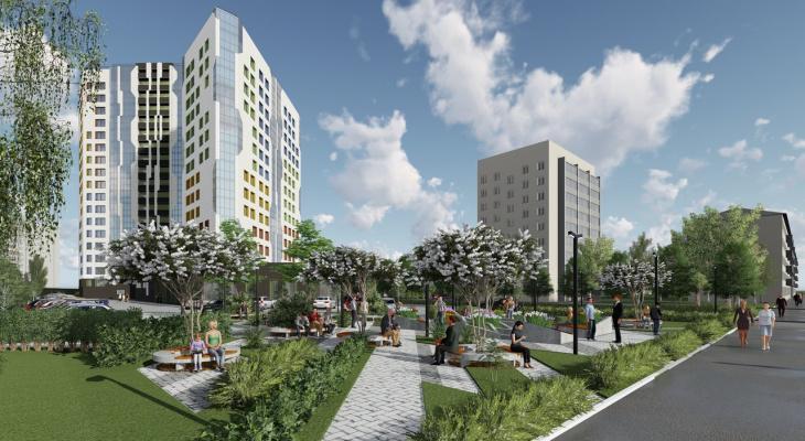 Градостроительный совет г. Кирова утвердил проект многоэтажного жилого комплекса напротив цирка.