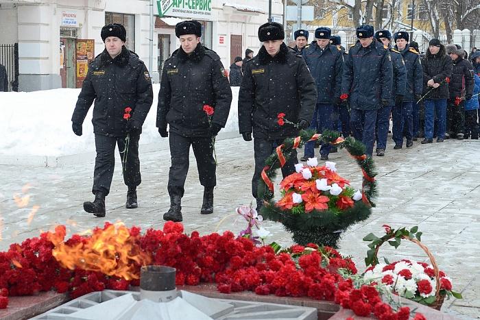 В Кирове отметили День защитника Отечества.