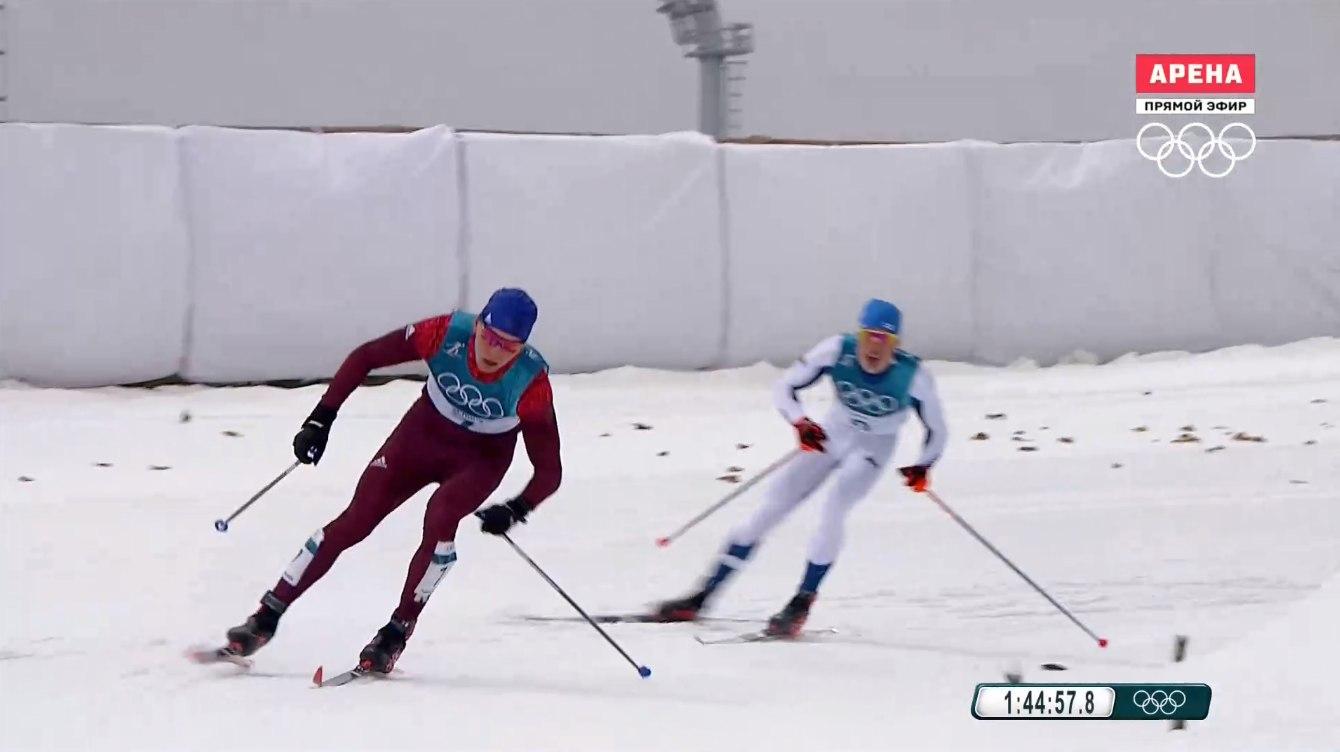 Кировский лыжник занял 12 место в олимпийском марафоне.