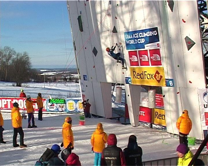 Киров принимает финал Кубка Мира и Чемпионат Европы по ледолазанию