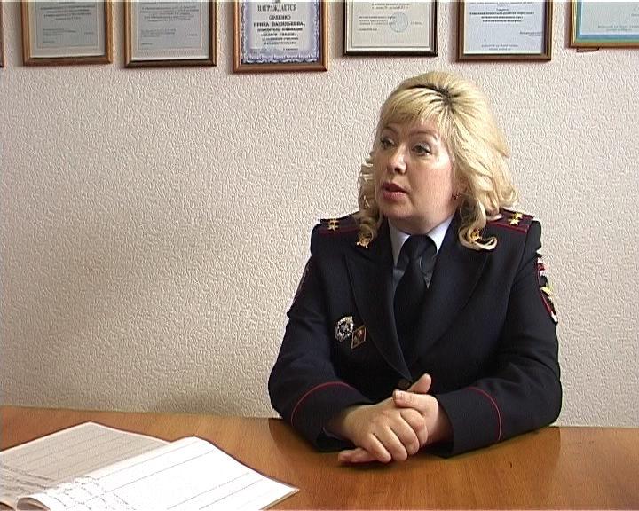 Портрет сотрудника ПДН Ирины Орленко