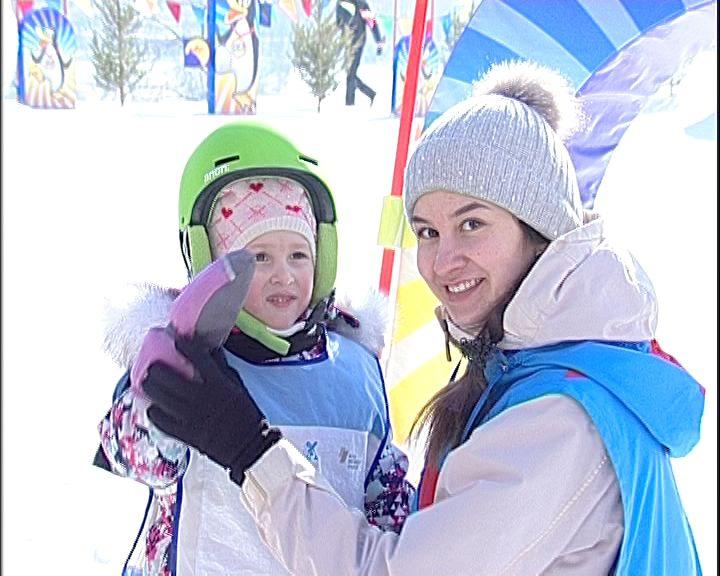 В Кирове прошли сноубордические соревнования для самых юных спортсменов