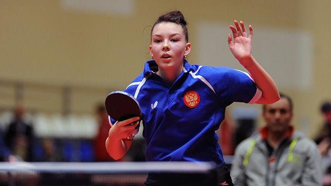 Воспитанница кировской школы настольного тенниса выиграла молодёжный чемпионат Европы.