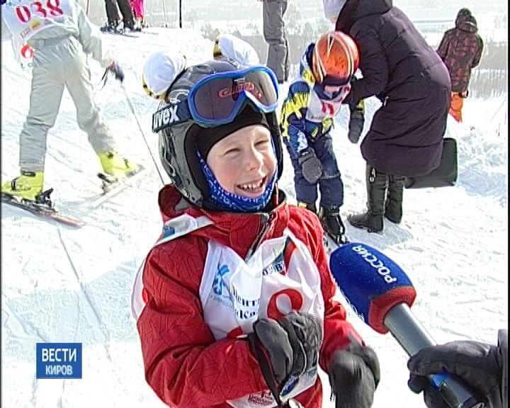 Соревнования юных спортсменов по ски-кроссу