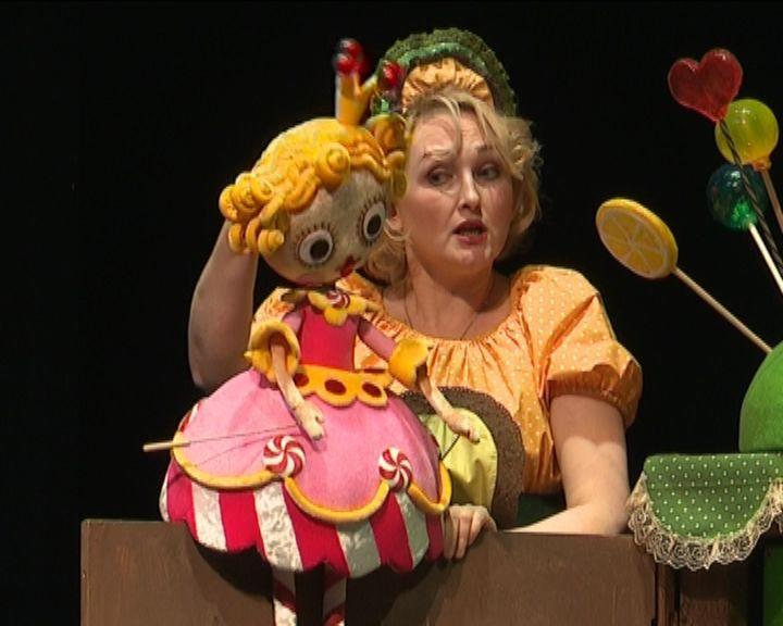 В театре кукол по случаю дня кукольника открыли большую кондитерскую