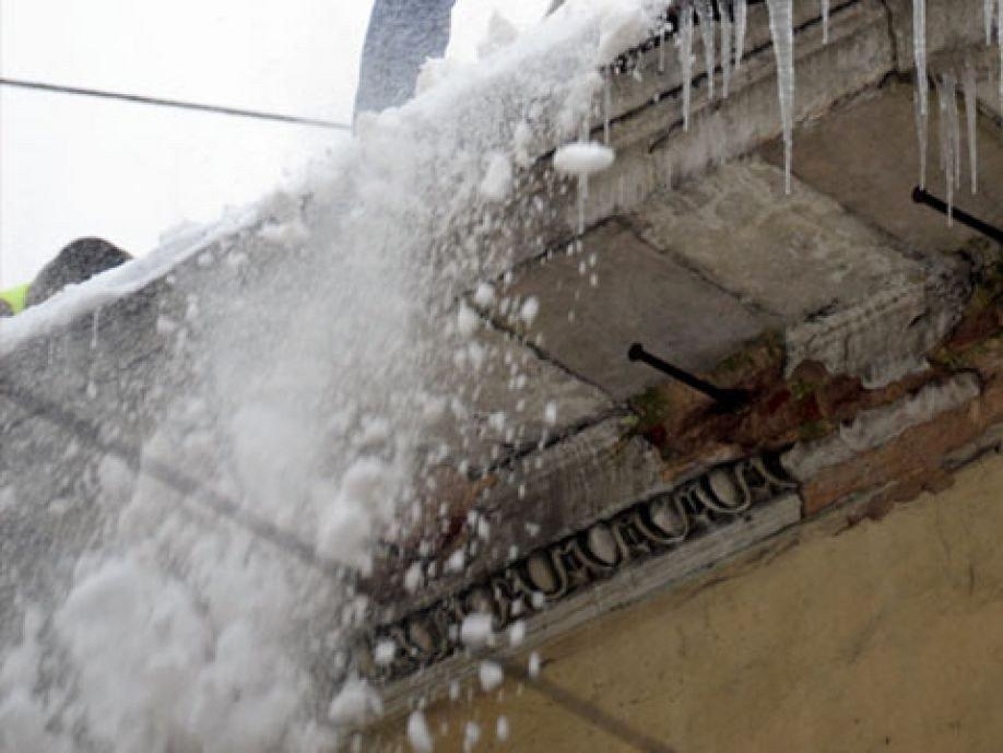 Уборка снега с крыш по снип