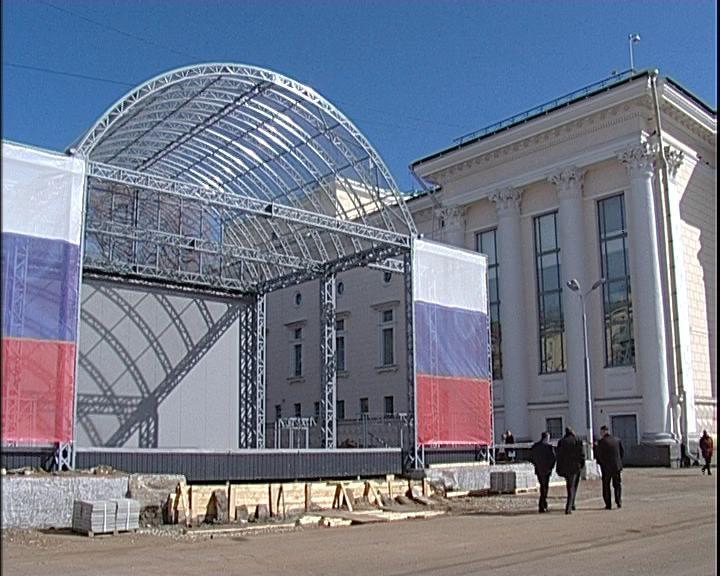 Новая главная сцена города Кирова уже нуждается в обновлении