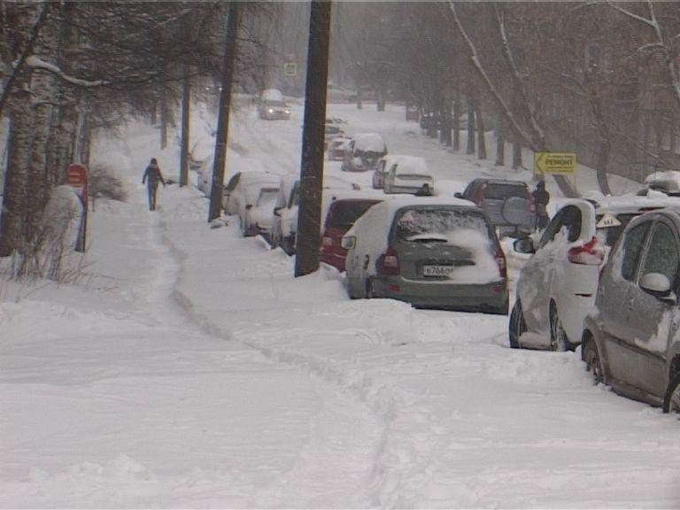 Кировские подрядчики оказались не готовы к снегопаду