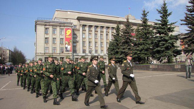 9 мая на сайте ГТРК Вятка состоялась прямая трансляция Парада Победы на Театральной площади (ВИДЕО)