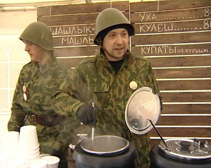 Кировчане окунулись в атмосферу времен Великой Отечественной войны