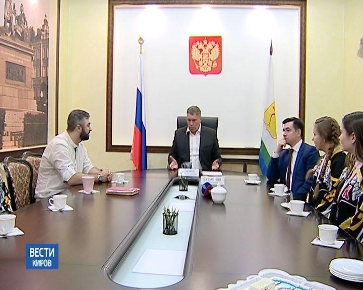Встреча Владимира Климова с ХК «Ангелы»