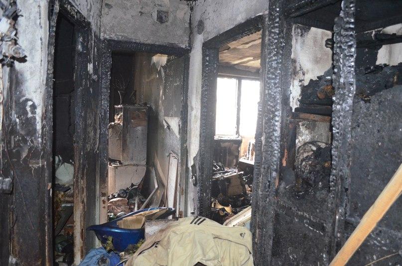 В Малмыжском районе в сгоревшем доме нашли тело мужчины.