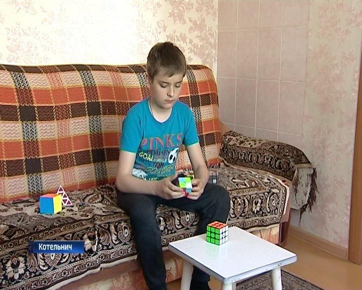12-летний мальчик из Котельнича установил мировой рекорд на соревнованиях по сборке кубика Рубика