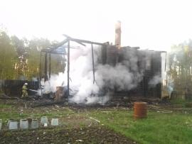 В Санчурском районе расследуют обстоятельства гибели в пожаре четырех человек.