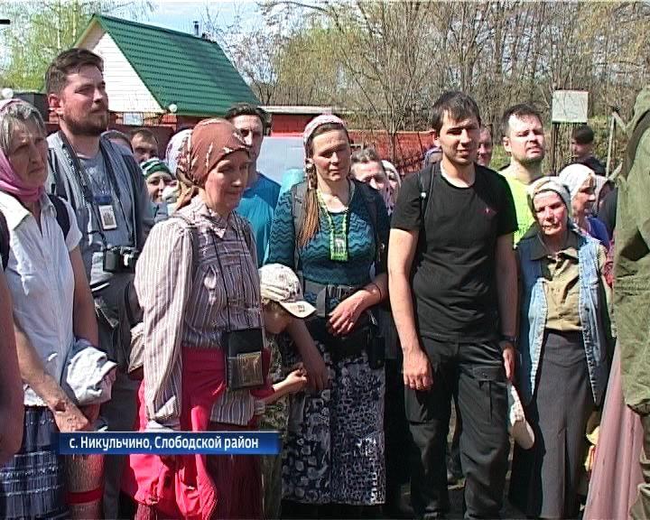 Верующие приняли участие в Борисоглебском крестном ходе