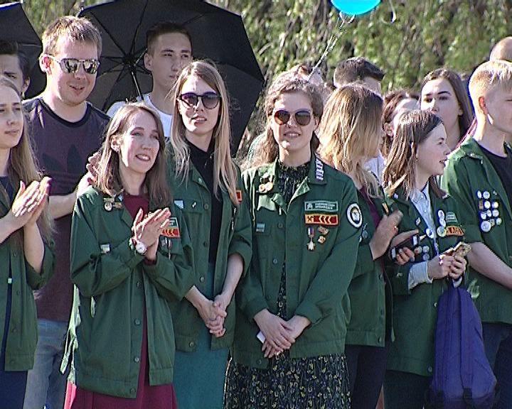 Студенческие отряды Кировской области открыли Третий трудовой семестр
