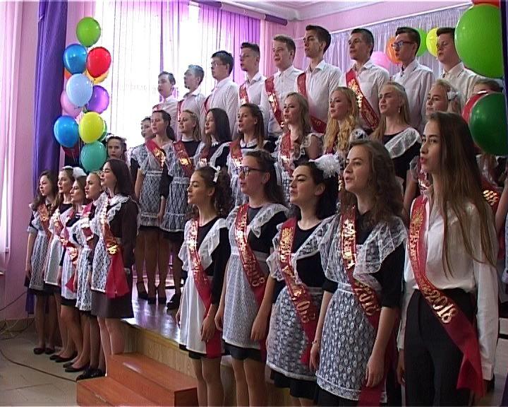 «Последний звонок» в школе № 37 города Кирова