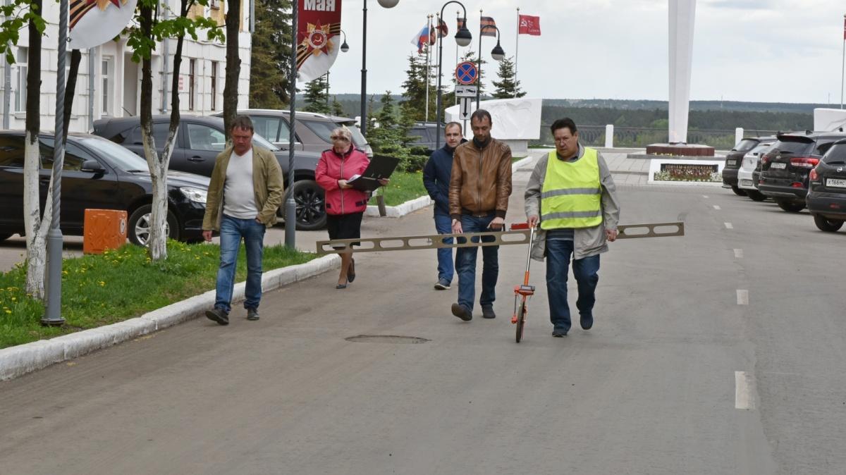«Муниципальный контроль» принял после ремонта улицу Московскую.