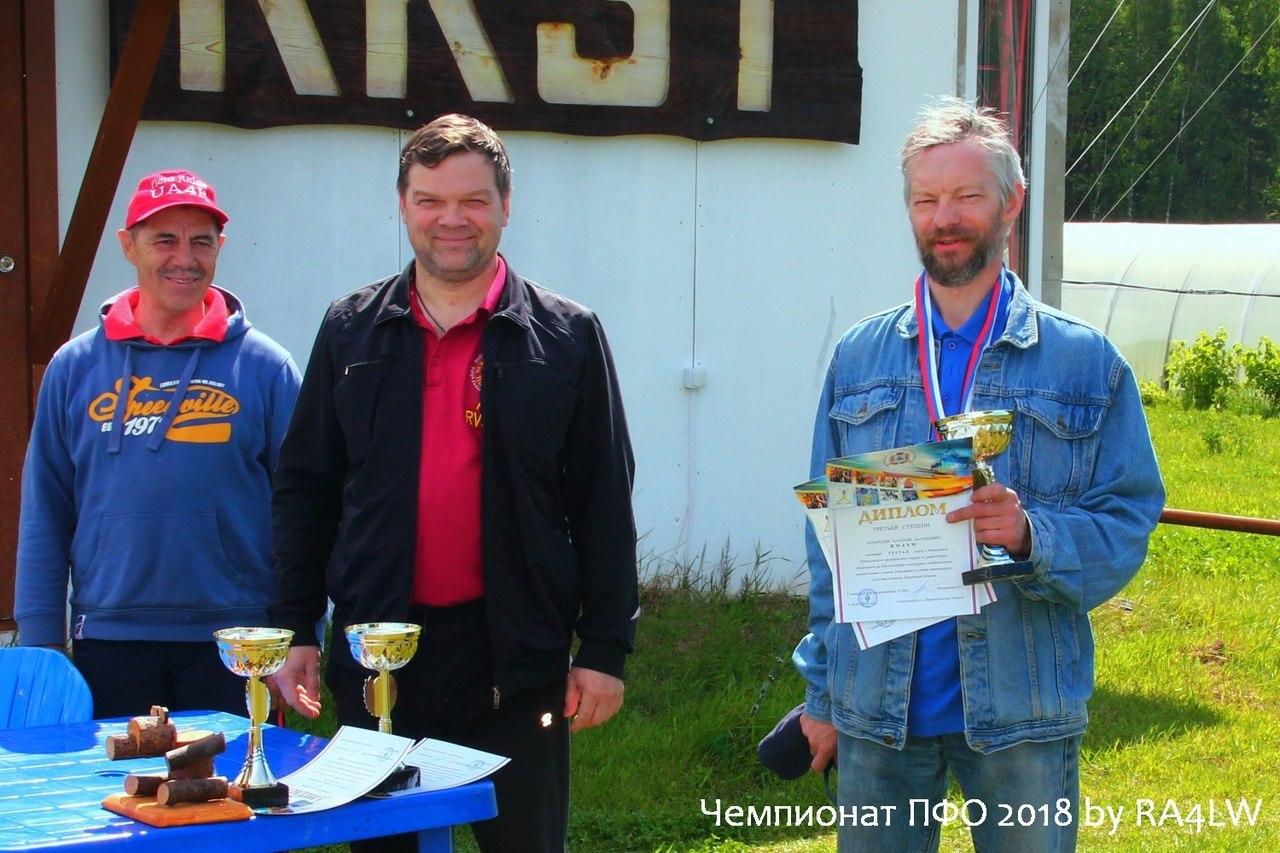 Кировчанин завоевал бронзу окружного чемпионата по радиоспорту.