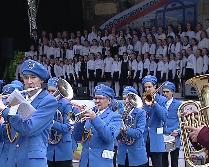 В Слободском прошел традиционный фестиваль духовых оркестров