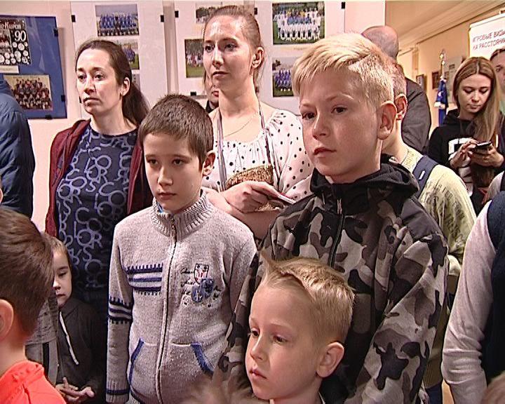 Областной краеведческий музей открыл футбольную выставку