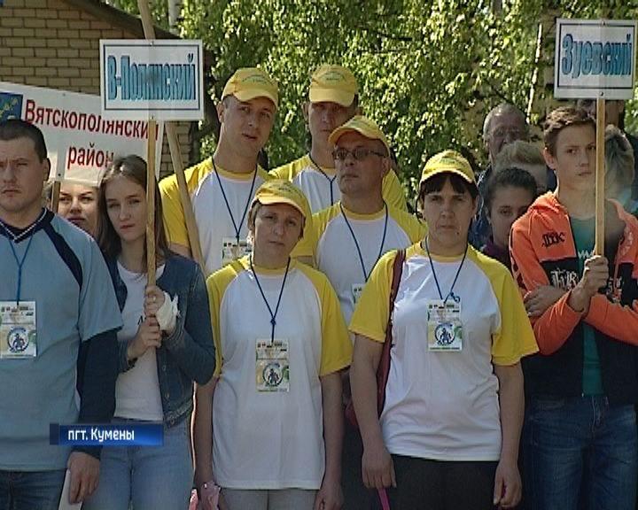 Сельские Игры в Куменах собрали 300 спортсменов из 20-ти районов