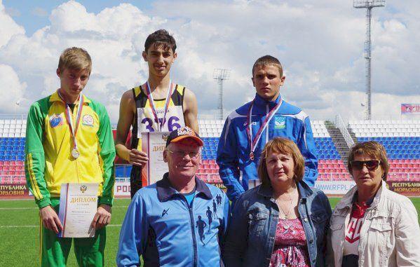 Кировский прыгун установил новый рекорд России.