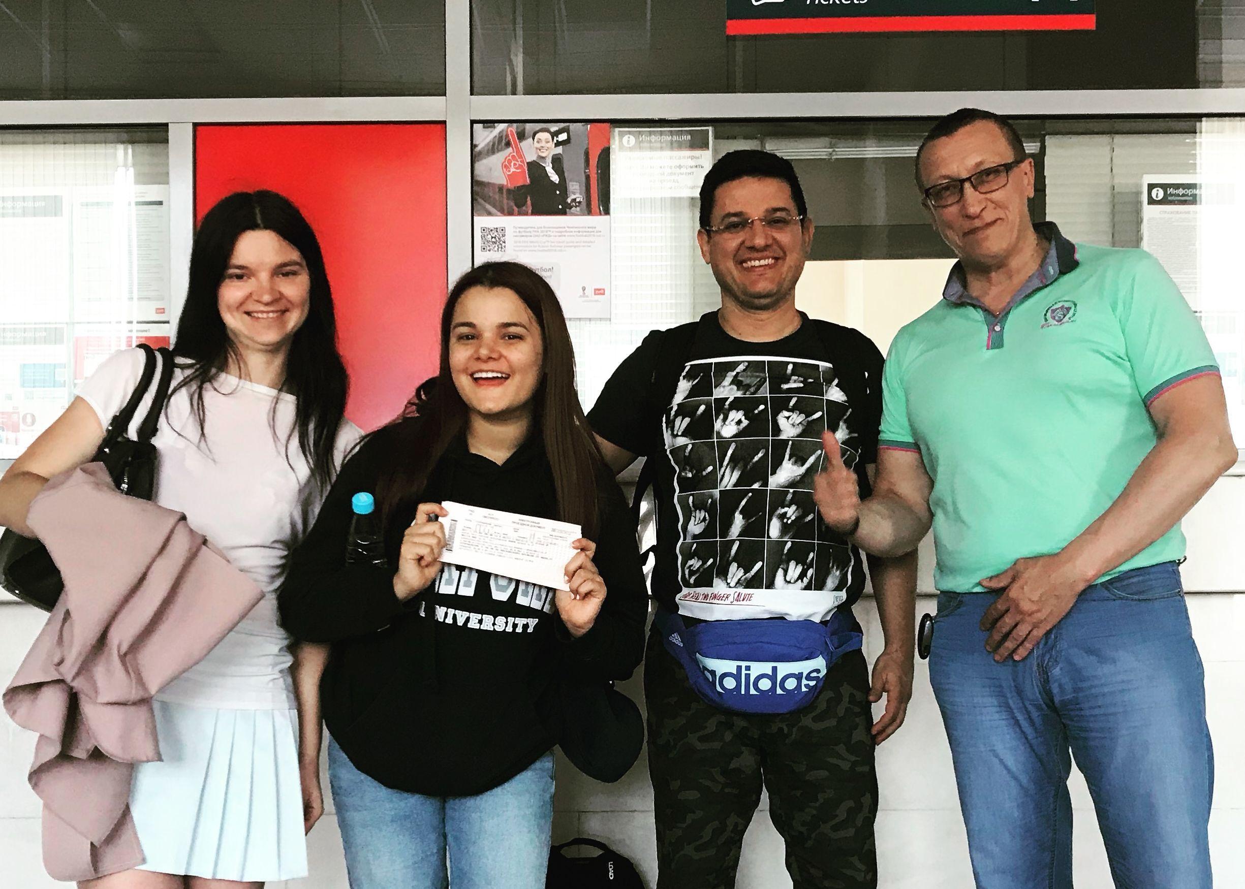 В Кирове помогли двум потерявшимся болельщикам из Колумбии.