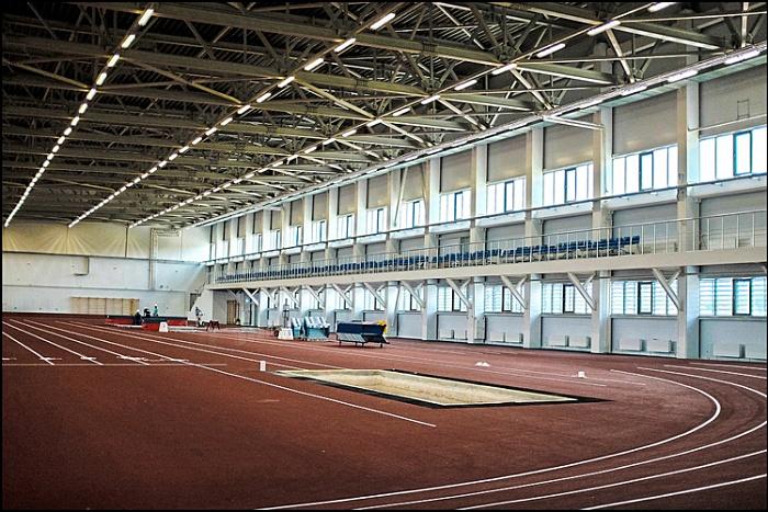 Легкоатлетический манеж в Кирове откроется в конце сентября.