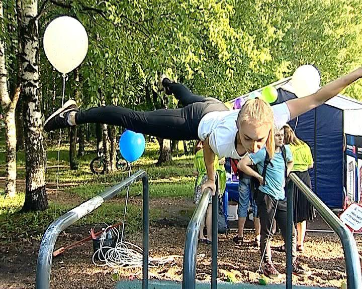 В Кирове открылась первая профессиональная площадка для ворк-аута