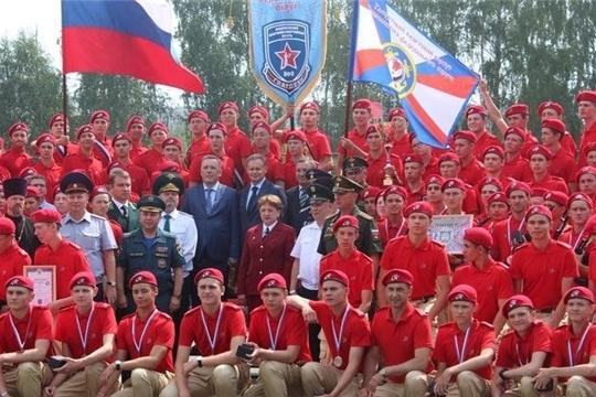 Кировчане приняли участие во второй смене оборонно-спортивного лагеря «Гвардеец».